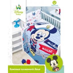 Купить КПБ Бязь Disney Микки для новорожденных 83014 Мона Лиза