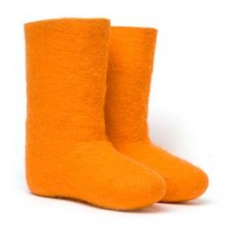 Купить Валенки женские оранжевые