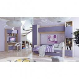 Купить Набор для детской 'Мебель Трия' Аватар ГН-201.001 каттхилт/лаванда