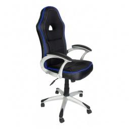 фото Кресло компьютерное 'Tetchair' Pilot черный_синий