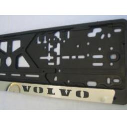 Купить Комплект пластиковых рамок с вставкой из нержавеющей стали Volvo