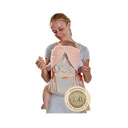 Купить Рюкзак-кенгуру BabyActive Lux, бежевый