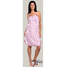 Купить Женская ночная трикотажная сорочка 100% хб арт.  1-64