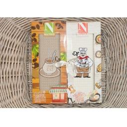 фото Набор полотенец для кухни из 2х штук с вышивкой PLT180-6 Tango