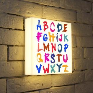 "Купить Лайтбокс ""Alphabet 2"" 25x25-004 FotonioBox"