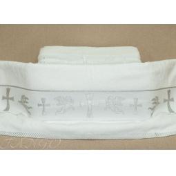 Купить Полотенце для крещения 70*140 см plt141-3 Турция