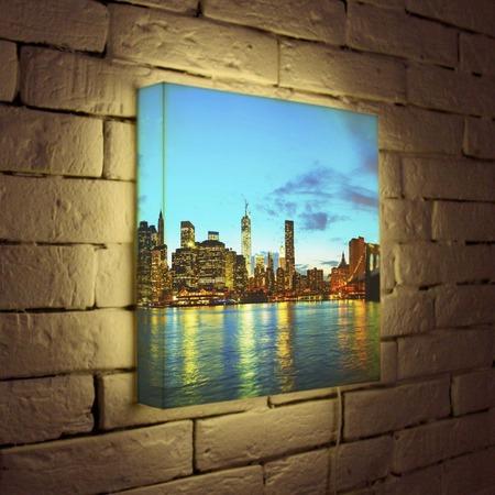 """Купить Лайтбокс """"NYC 2"""" 35x35-110 FotonioBox"""