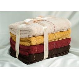 фото Набор Махровых полотенец из 4 шт Gobel 70*140 см plt038-11 Турция