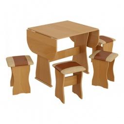Купить Набор кухонный 'Мебель Трия' тип 4 ольха/бук/коричневый