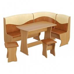 Купить Набор кухонный 'Мебель Трия' Уют-2 Люкс ольха/бук/коричневый