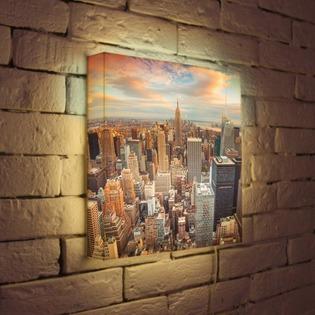 """Купить Лайтбокс """"NYC"""" 35x35-105 FotonioBox"""