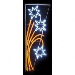 Купить 'Неон-Найт' Панно световое (1.75x0.85 м) Звездный фейерверк 501-336
