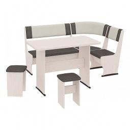 Купить Набор кухонный 'Мебель Трия' Челси Т1 дуб белфорт/лён коричневый/лён бежевый