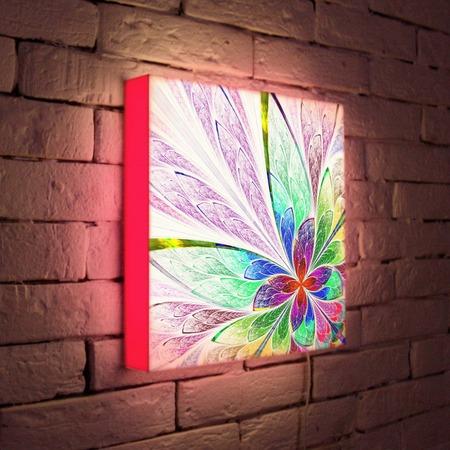 """Купить Лайтбокс """"Цветок 2"""" 35x35-015 FotonioBox"""