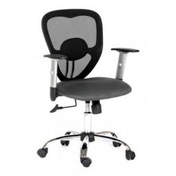 Купить Кресло компьютерное 'Chairman' Chairman 451 серый, черный/хром, черный