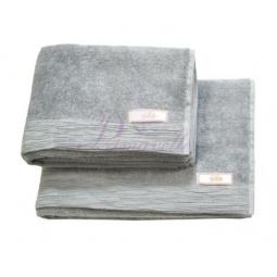 Купить Махровое полотенце Silk-шелк 70х135 4013 серый Примавель