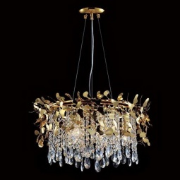 фото Подвесная люстра Crystal Lux Romeo SP6 Gold D600 Crystal Lux