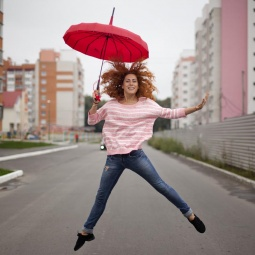 """Купить Зонт """"Прячу от дождя, привлекаю взгляды!"""""""
