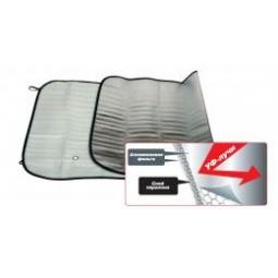 Купить Шторка солнцезащитная (на лобовое стекло) AVS-105F 130x60cm