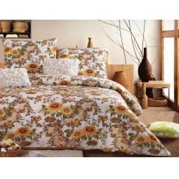 фото 2 х спальное постельное белье Сатин С179-2 Valtery