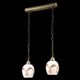 фото Подвесной светильник Eurosvet 50030/2 античная бронза Eurosvet