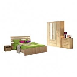 Купить Гарнитур для спальни 'Столлайн' Сиеста 3 дуб сонома