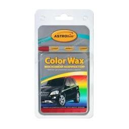 Купить Восковой корректор Astrohim color wax металлик темно-красный