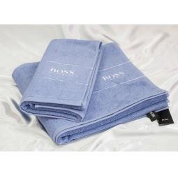 Купить Набор Махровых полотенец Hugo Boss из 2х штук 50*90 см + 70*140 см plt143-8 Турция