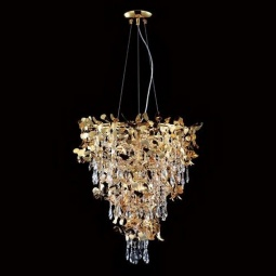 фото Подвесная люстра Crystal Lux Romeo SP10 Gold D600 Crystal Lux