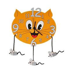 Купить Часы настенные КОШКА С МЫШКАМИ