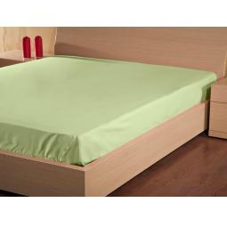 Купить Простыня на резинке Хлопок Prima 140*200 см зеленый 114911505-3 Примавель