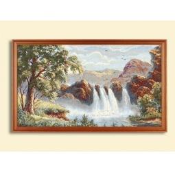 Купить Картина из гобелена - Водопад