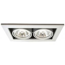 фото Встраиваемый светильник Arte Lamp Technika A5930PL-2SI Arte Lamp