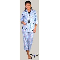 Купить Женская пижама из трикотажа 100% хб  арт.  3-09
