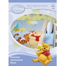 Купить Постельное белье для малышей бязь Винни Пух и Тигра ПТ-К-1 Мона Лиза