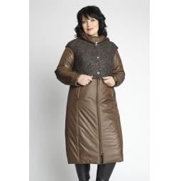"""Купить Пальто """"Дечизо"""" - коричневый"""