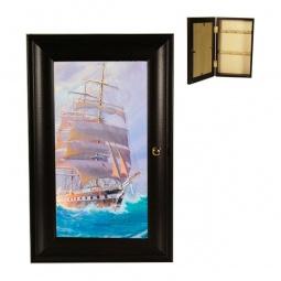 Купить Ключница 'Акита' (16.5х26.5 см) Корабль P311-18