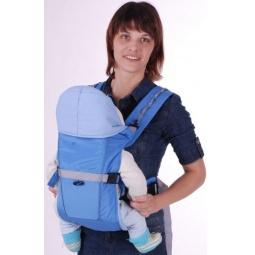 Купить Рюкзак-кенгуру BabyActive Simple, голубой