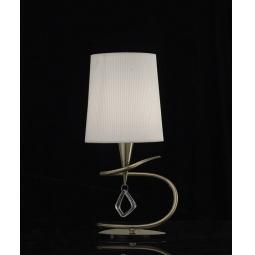 фото Настольная лампа Mantra MARA ANTIQUE BRASS 1629 Mantra