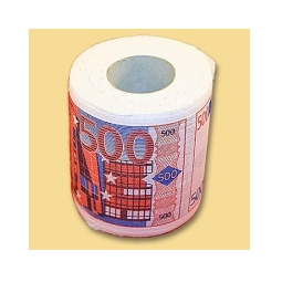 Купить Туалетная бумага 500 евро