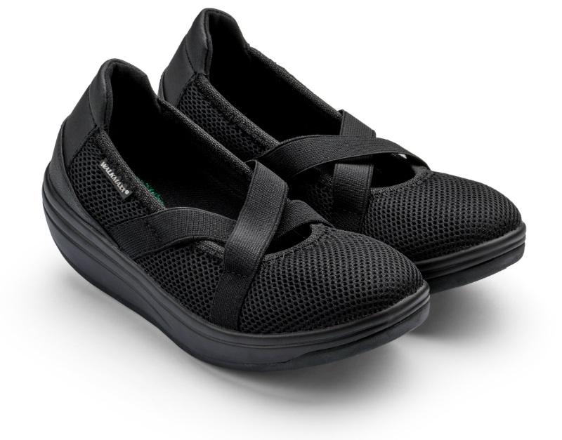 Балетки адаптивные спортивные Walkmaxx 2.0. Цвет: черный 1
