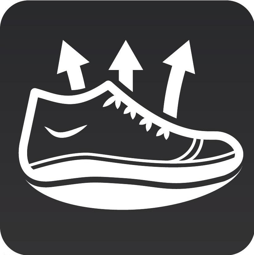 Балетки адаптивные спортивные Walkmaxx 2.0. Цвет: черный 12
