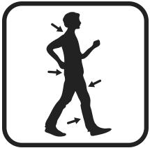 Сандалии дышащие женские Walkmaxx 3.0. Цвет: черный 6