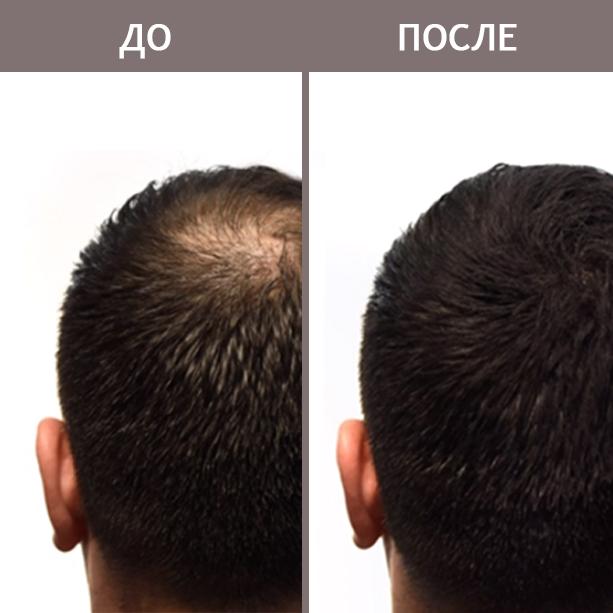 Пудра-камуфляж для волос с кератиновыми микроволокнами Seamantika 2