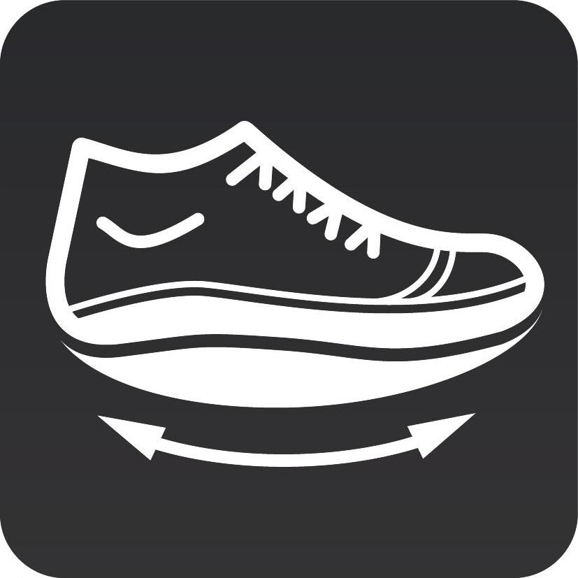 Балетки адаптивные спортивные Walkmaxx 2.0. Цвет: черный 7