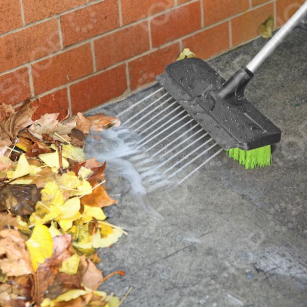 Уличная щетка Rovus с распылителем «Чистый двор» 2